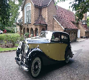 1950 Rolls Royce Silver Wraith in Peterborough