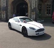 Aston Martin Vantage Hire  in Peterborough