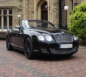 Bentley Continental Hire in Peterborough