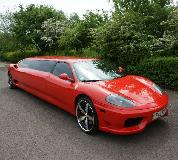 Ferrari Limo in Peterborough