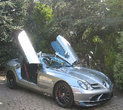 Mercedes Mclaren SLR Hire in Peterborough