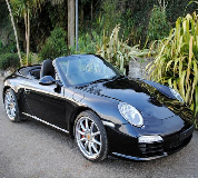 Porsche Carrera S Convertible Hire in Peterborough