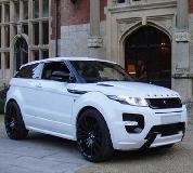 Range Rover Evoque Hire in Peterborough