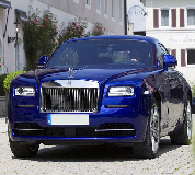 Rolls Royce Ghost - Blue Hire in Peterborough