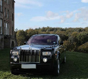 Rolls Royce Phantom - Black Hire in Peterborough