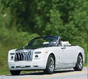 Rolls Royce Phantom Drophead Coupe Hire in Peterborough